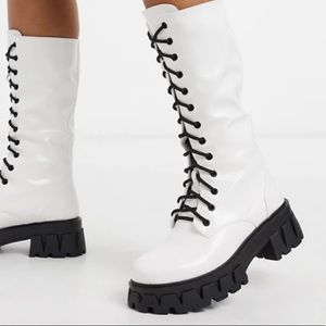 ASOS lace up boots currently sold out